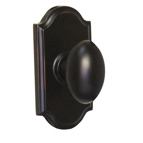 Weslock Door Knob by Weslock Traditionale Rubbed Bronze Privacy Impresa