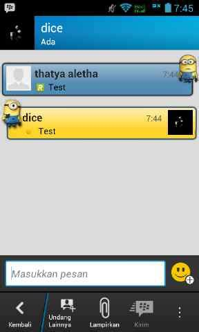 download theme bbm for android apk bbm for android apk file with one piece minion animation