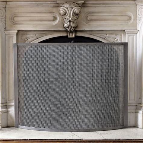 fireplace screen fireplace screen west elm