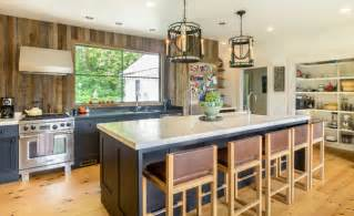 Reclaimed Wood Vs New Wood rustic modern farmhouse kitchen farmhouse kitchen