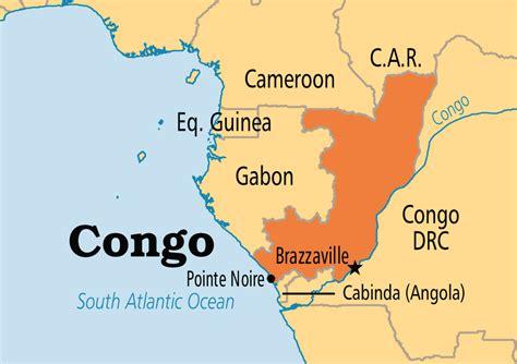 congo map congo operation world