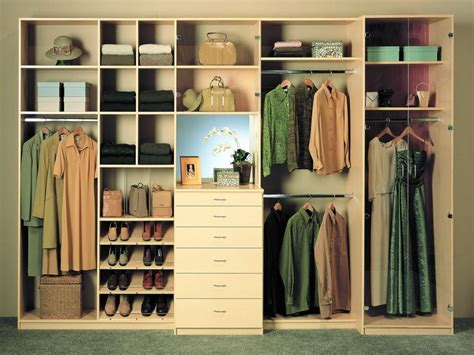 Closet Storage Systems Diy by Closet Organizer Plans Do It Yourself Stroovi