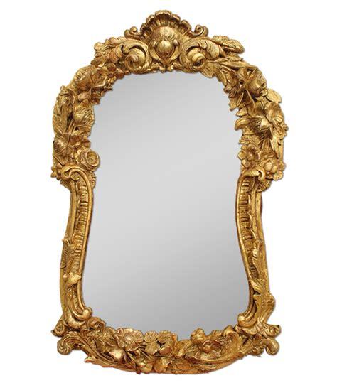 miroir ancien bois sculpt 233 224 l or fin