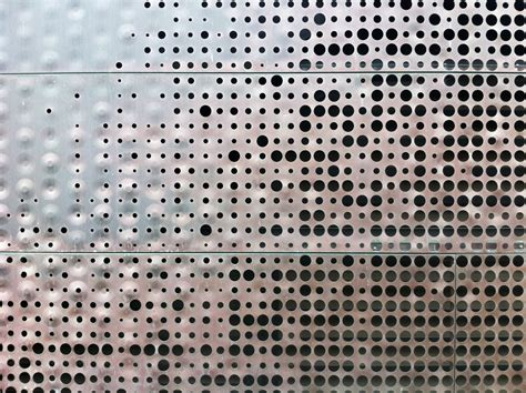 the gallery for gt perforated corten steel texture