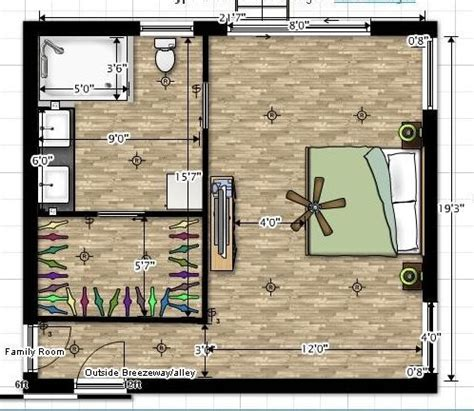 master bedroom layout
