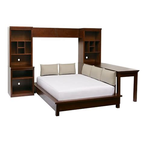 bed with shelves stuff your stuff platform bed system bed towers shelves