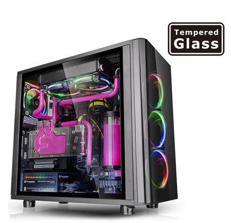 Casing Computer Pc Psu Gamemax Atx G506 thermaltake atx view 31 tg rgb tempered glass no psu