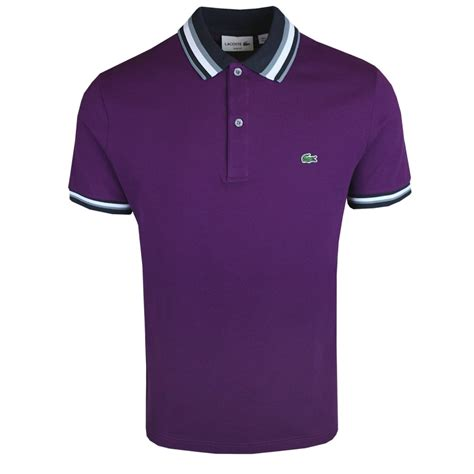 buy mens lacoste shirts from vault menswear uk