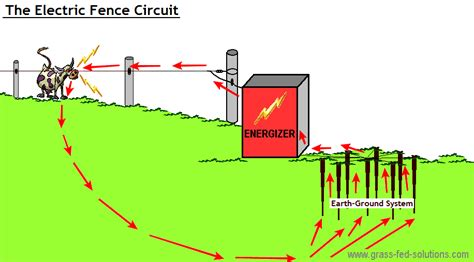 electric fence installation electric fence set up diagram efcaviation