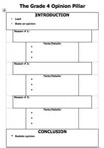 Back gt gallery for gt opinion writing graphic organizer 4th grade