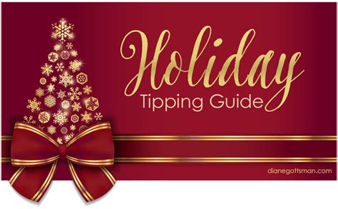 Gift Card Tipping Etiquette - christmas tipping guide christmas decore