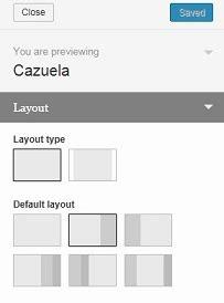 wordpress row layout full width cazuela free premium wordpress theme thematosoup