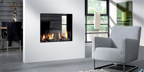 der on fireplace bioptica by element4 see through fireplace direct vent gas