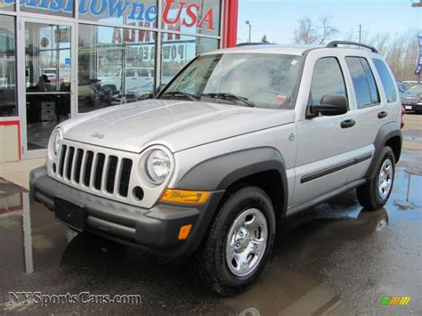 jeep liberty silver 2006 jeep liberty sport 4x4 in bright silver metallic