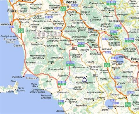 tuscany map map of tuscany italy images
