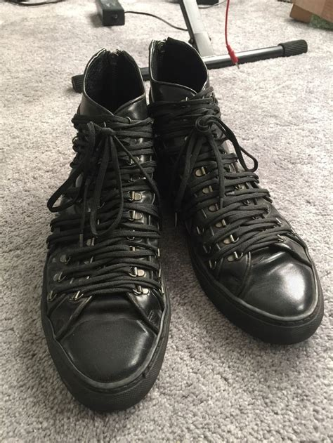 raf simons shoes grailed 17 best images about grailed highlights on cloaks helmut lang and leather jackets