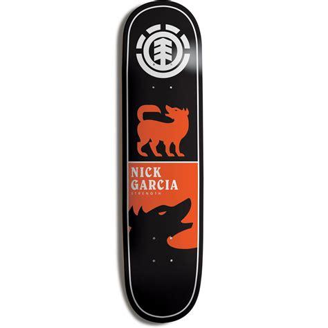 element deck element garcia chromatics skateboard deck evo