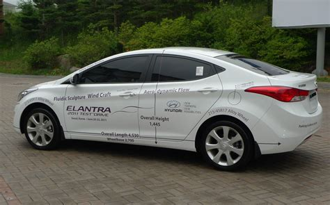 driven hyundai elantra md tested in korea image 96934