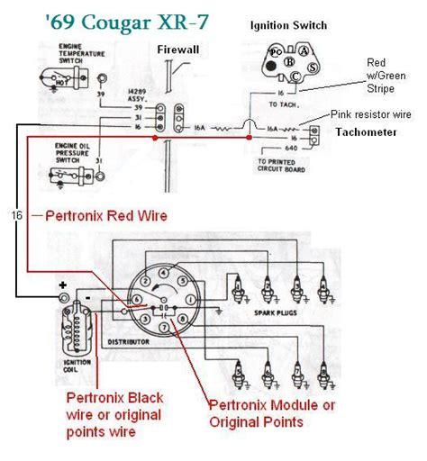 pertronix electronic ignition wiring diagram wiring
