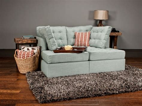 Lovesac 5 Series 5 Series Lounger With Tufted Robinegg Tweed Covers