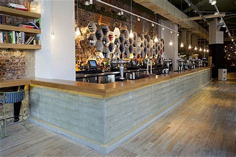 Green Restaurant Design   Commercial Interior