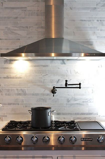 pot filler gorgeous stove oven kitchen remodel ideas