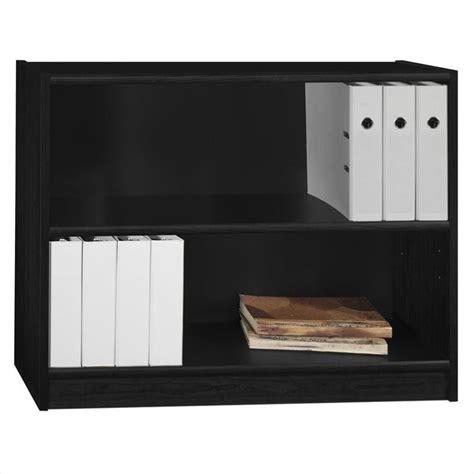 bush universal 5 shelf 72 bookcase bush universal 2 shelf bookcase in huali black wl12438 03