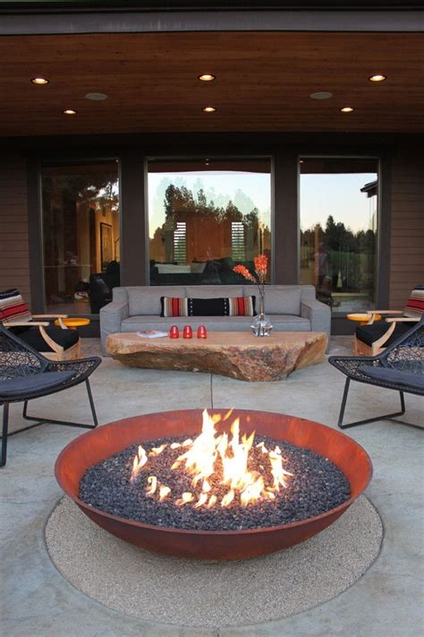 Small Outdoor Gas Pit Best 25 Gas Pit Ideas On
