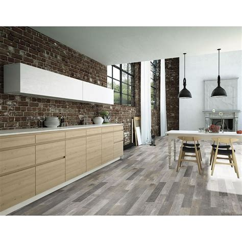 Style Selections Kaden Reclaimed Porcelain Floor Tile