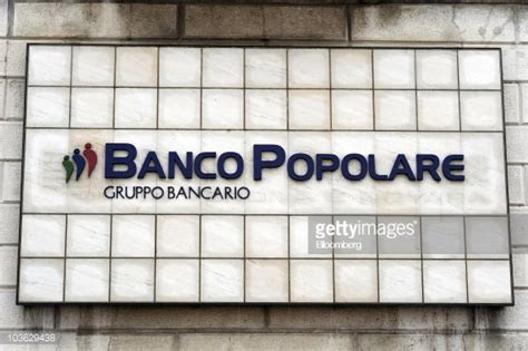 banco popolare sc the banco popolare sc logo is seen on the company s