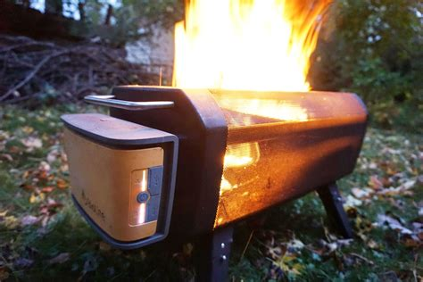 rechargeable smokeless fire biolite firepit first look