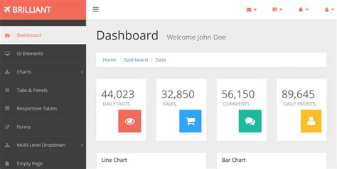 bootstrap dashboard template free top 20 best free bootstrap admin templates our code world