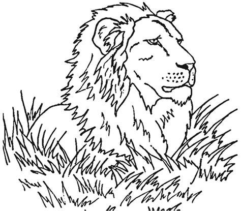 108 Dessins De Coloriage Lion 224 Imprimer Sur Laguerche Com