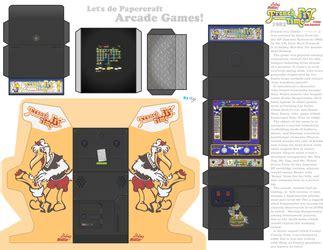 Arcade Papercraft - ness s profile weasyl