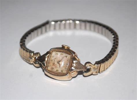 vintage bulova l9 10k r g p wrist u344227