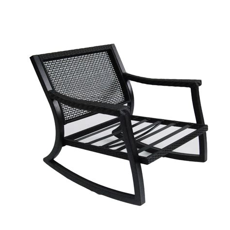 Steel Patio Chair Shop Allen Roth Netley Brown Steel Patio Conversation Chair At Lowes