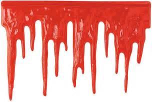 blutstropfen halloween wanddeko folie rot 60x40cm wanddeko