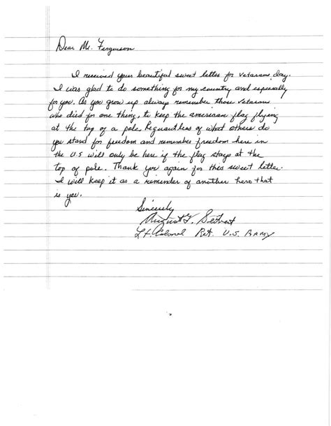 veteran thank you letters madrat co