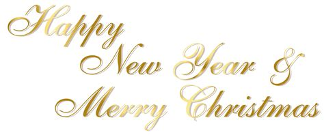 merry clipart merry and happy new year clipart happy holidays