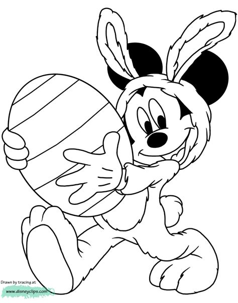 disney easter coloring pages  easter fun  disneys