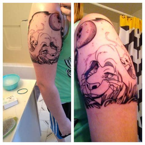 mufasa tattoo lionking mufasa simba my tattoos