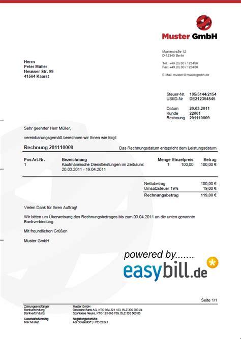 Rechnungsmuster Mwst Rechnungsvorlage Und Angebotsvorlage
