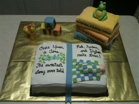 book themed cakes cakes by joanna book themed baby shower