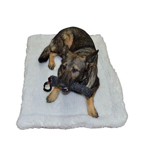 sherpa dog bed redline k9 double sherpa dog bed