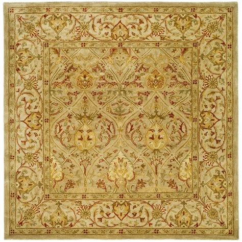 8 foot square area rugs safavieh legend moss beige 8 ft x 8 ft square area rug pl819g 8sq the home depot