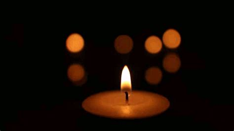 A Candle Loses Nothing By Lighting Another Candle Hardi S Gallery Tealight Candle Gif Animation