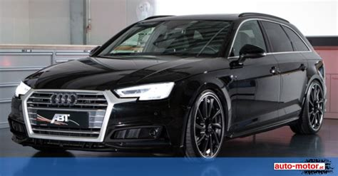 Audi Tuning Firma by Abt Tuning Mehr Kraft F 252 R Den Audi A4 Auto Motor At