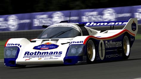rothmans porsche 956 the racing colors most iconic of the automotive history