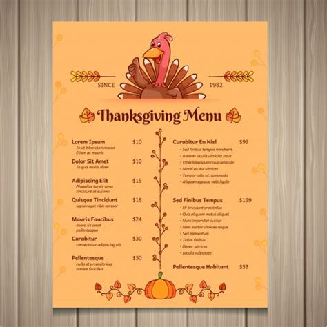 Thanksgiving Cards Template Free Customizable by 36 Thanksgiving Menu Templates Free Sle Designs