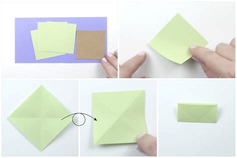 Origami Tree Card - easy origami tree card tutorial